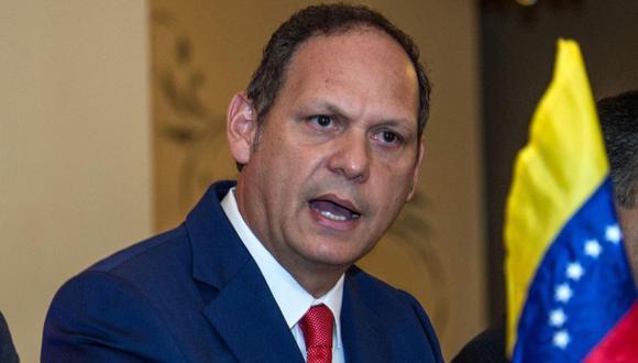 El presidente del máximo órgano judicial de Venezuela en el exilio, Miguel Ángel Martín. (Foto: EFE)
