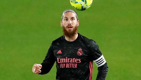 Sergio Ramos dio positivo por coronavirus, anunció Real Madrid. (Foto: Reuters)