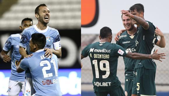 Sporting Cristal y Universitario de Deportes tienen oportunidad de clasificar a la Copa Sudamericana en la última jornada de la fase de grupos de la Copa Libertadores 2021. (Foto: Liga 1)