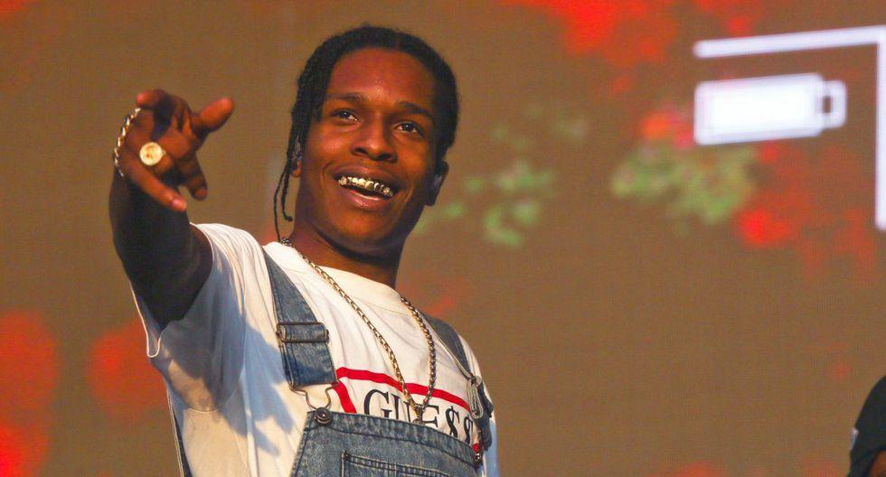 Numerosos medios internacionales, especialmente estadounidenses, cubren el juicio deA$AP Rocky. (Foto: AP)