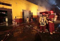 Navidad: bomberos atendieron 161 emergencias, cifra menor a la del año pasado