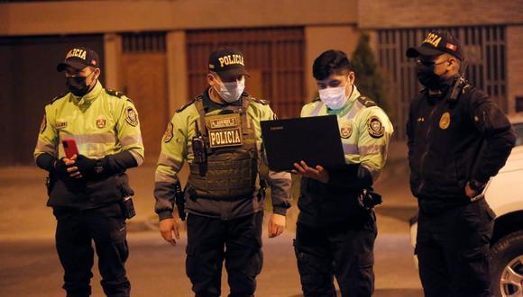La Policía sospecha de un presunto ajuste de cuentas.  (Foto: César Grados/@photo.gec)