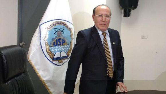 Chimbote: condenan a 4 años de prisión a ex rector de la Universidad San Pedro