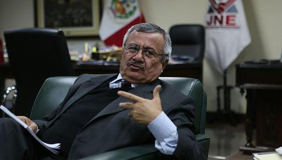 JNE: Legislación electoral carece aún de tratamiento coherente