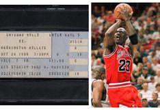 NBA | Coleccionista pagó una increíble suma por la entrada del debut de Michael Jordan