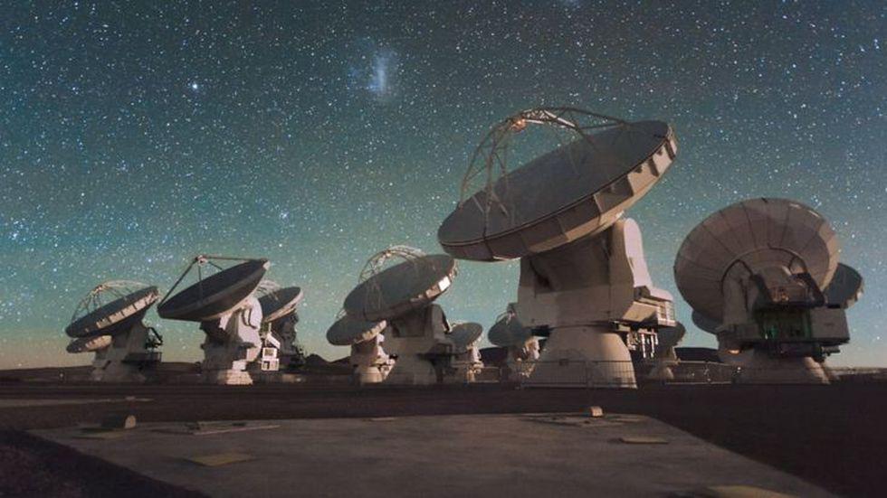 ALMA, el Gran Conjunto Milimétrico-submilimétrico de Atacama (Chile), es uno de los telescopios que participa en el proyecto.