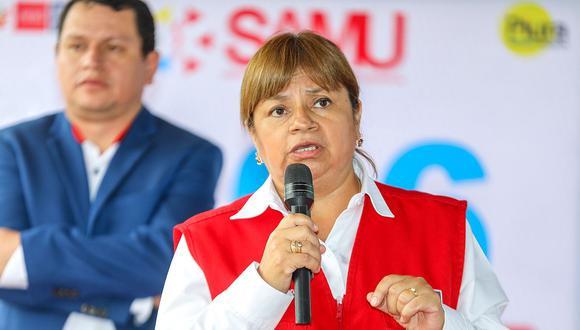 Zulema Tomás sucedió en el Minsa a Silvia Pesah en enero del 2019. (Foto: GEC)