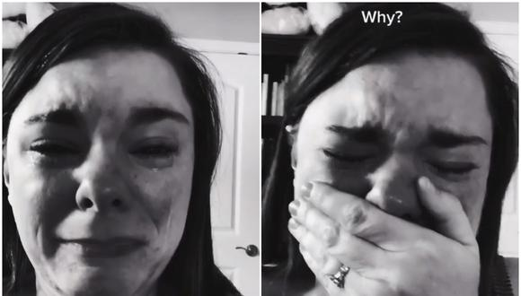 """""""Lo normal es que esto sea algo negativo para cualquier niño, pero nuestro hijo tiene síndrome de Down"""", explicó la madre entre lágrimas. (Foto: @nosilla865 / TikTok)"""