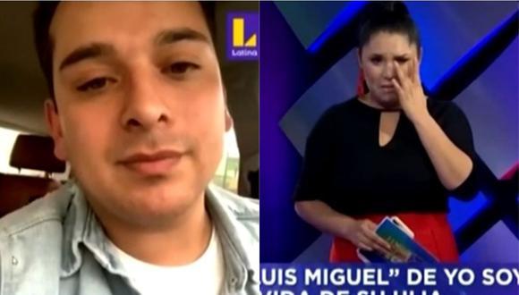 Lady Guillén se conmovió hasta las lágrimas al conversar con Ricky Santos y su esposa sobre salud de su bebé. (Foto: captura de video)
