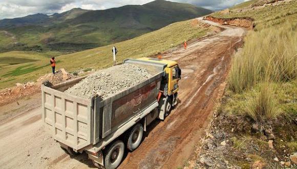 MTC: se restablece al 100% el tránsito en vía a Las Bambas