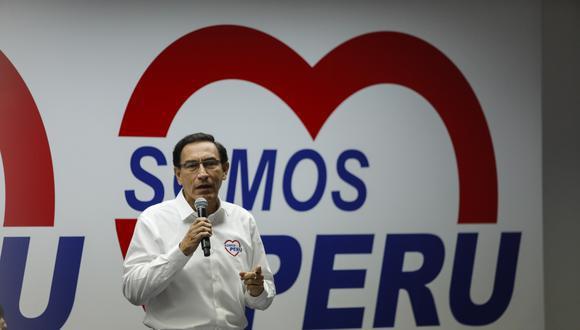 Martín Vizcarra confirmó este jueves que recibió una vacuna como parte de la fase 3 del ensayo de Sinopharm. (Foto: GEC)