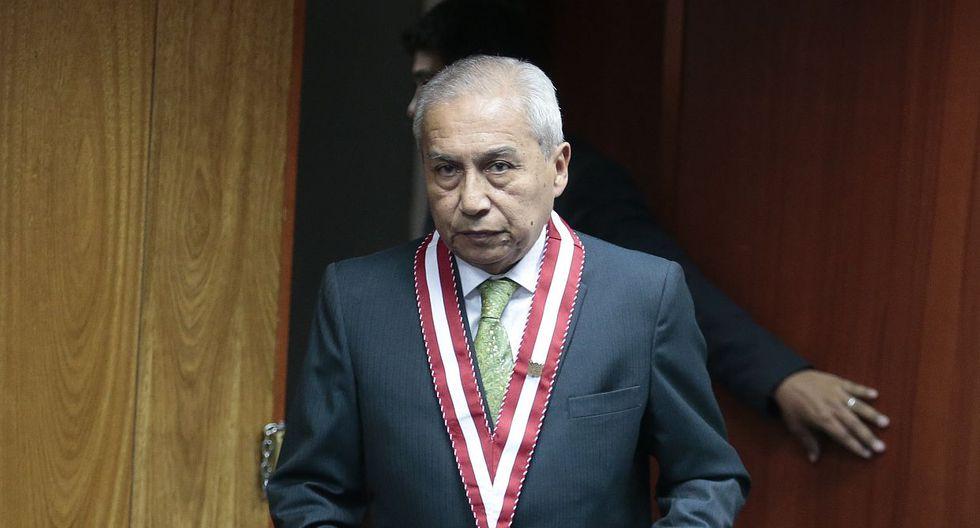Pedro Chávarry retrocedió y decidió dejar en sus cargos a los fiscales Rafael Vela Barba y José Domingo Pérez como miembros del equipo especial Lava Jato. (Foto: GEC)
