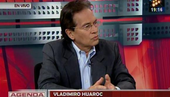 """Vladimiro Huaroc: """"Yo no he dejado mis ideas"""""""