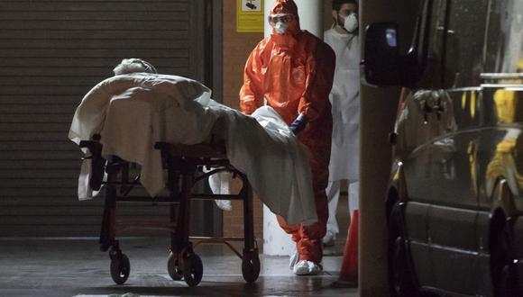 En España, el 87 % de los fallecidos son personas que superan los 70 años (Fuente EFE)