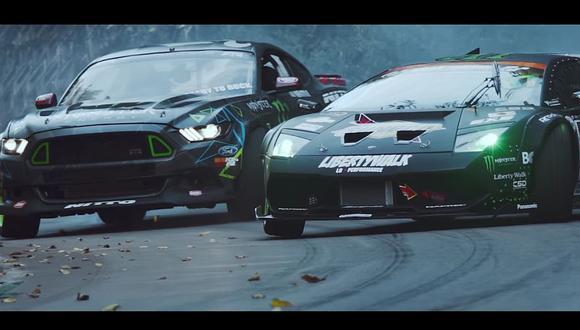 En el video de YouTube se ve un duelo épico entre un Lamborghini Murciélago y un Ford Mustang. (foto: captura)