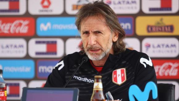Ricardo Gareca es técnico de la selección peruana desde el 2015.