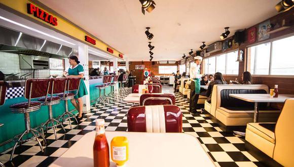 El restaurante Arnold's Burgers está inspirado en los 50.(Foto: Arnold's Burgers)