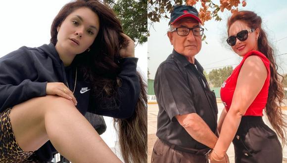 Génesis Tapia reveló que su padre fue diagnosticado con cáncer y le extirparon tumor maligno. (Foto: Composición/Instagram)