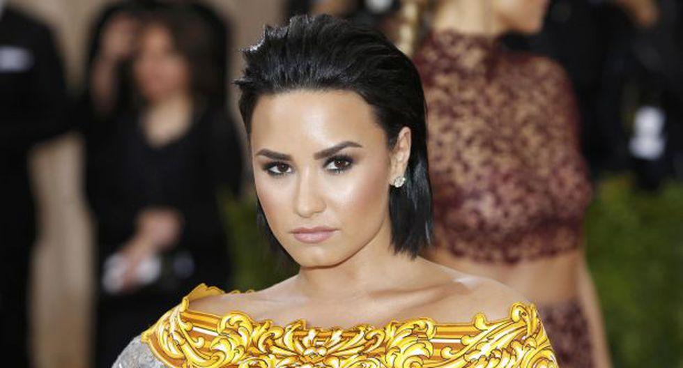 Demi Lovato, cantante estadounidense. (Foto: Agencia)
