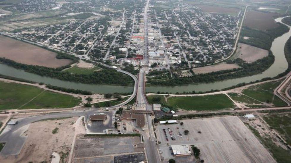 La ciudad tejana de Progreso está al lado del Río Grande.