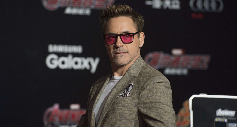 Robert Downey Jr. (Iron Man) compite por Superhéroe favorito. (Foto: Agencia)