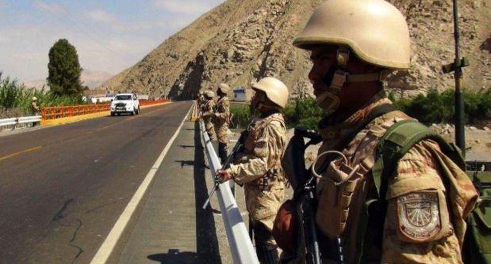 Arequipa: Fuerzas Armadas resguardarán la región por 30 días
