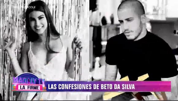 Beto Da Silva sobre el fin de su relación con Ivana Yturbe. (Foto: Captura de video)