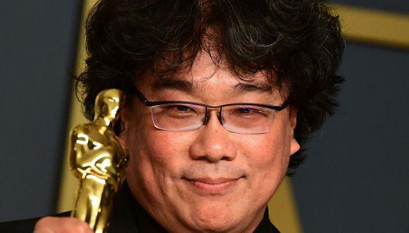 Bong Joon Ho estará como invitado de manera virtual para hablar sobre los momentos más relevantes del cine. (AFP/FREDERIC J. BROWN).