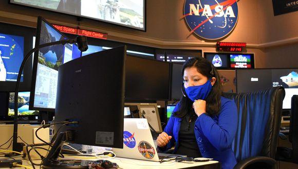 Rosa Ávalos-Warren (31)  es la primera ingeniera aeroespacial peruana que trabaja en la NASA. Forma parte de la institución desde el 2012. FOTO: Robert Markowitz