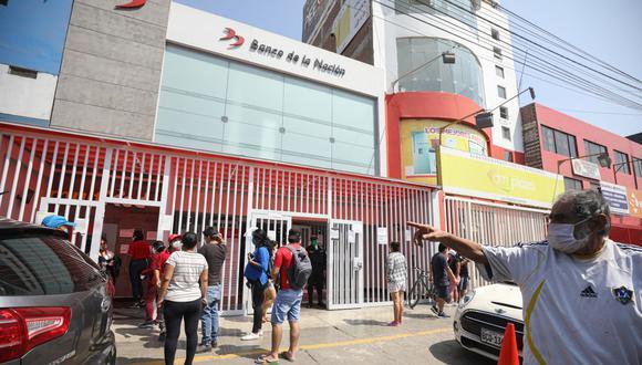 La cuenta que aperture el Banco de la Nación deberá encontrarse vinculada al número de DNI de su titular. (Foto: Britanie Arroyo / GEC)