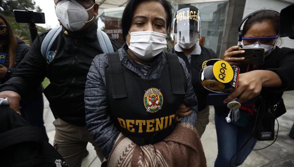 Mirian Morales se encuentra investigada en el marco del Caso 'Richard Swing'. (Foto: Joel Alonzo / @photo.gec)