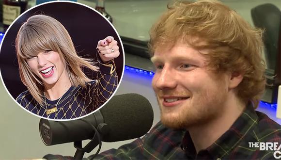Ed Sheeran reveló por qué nunca intentó enamorar a Taylor Swift
