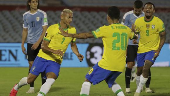 Brasil vs. Uruguay por Eliminatorias Qatar 2022 se jugará ante 13.000 espectadores. (Foto: AFP)