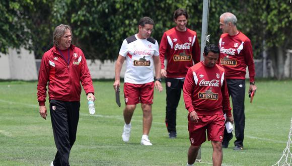 Nolberto Solano ha cumplido cinco años como parte del comando técnico de Ricardo Gareca. (Foto: EFE/Ernesto Arias).