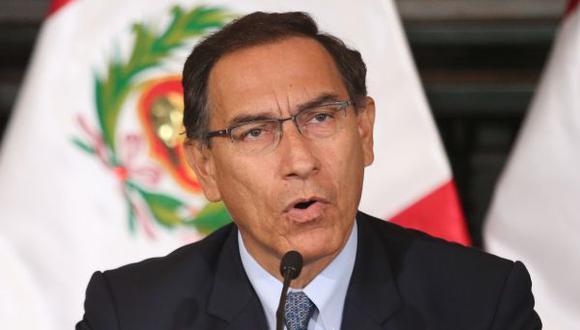 """Pese a discrepancias, Vizcarra afirmó que su relación con el Congreso es """"cordial"""" y """"de respeto"""". (Foto: Presidencia)"""