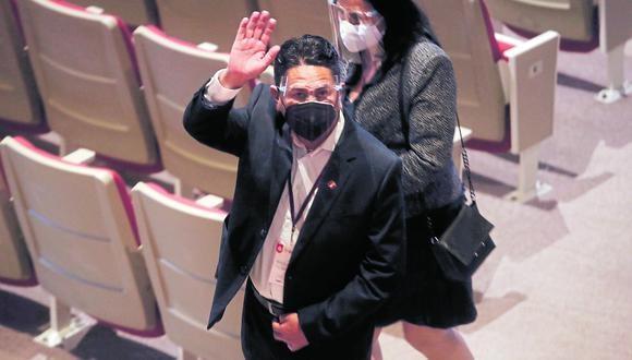 Fiscal Bonnie Bautista decidió incluir en la investigación del caso 'Los Dinámicos del Centros' al exgobernador regional Vladimir Cerrón.  (Foto: Cesar Campos Medina / @photo.gec)