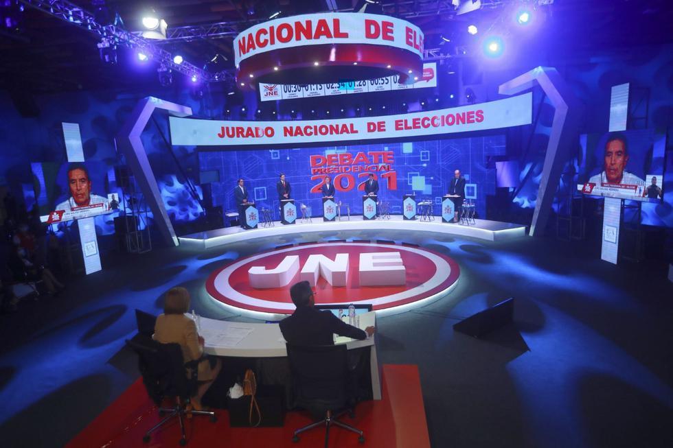 Tercer día de debate presidencial del JNE
