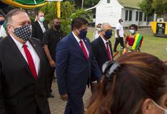 Pompeo insta a Surinam a elegir firmas estadounidenses en lugar de chinas | FOTOS