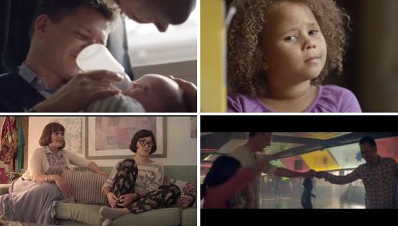 Los valientes spots que muestran a las 'nuevas' familias