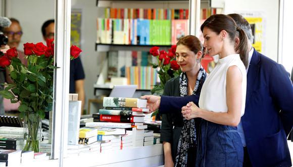 Feria del Libro de Madrid: reina de España inauguró la edición del 2019. (EFE)
