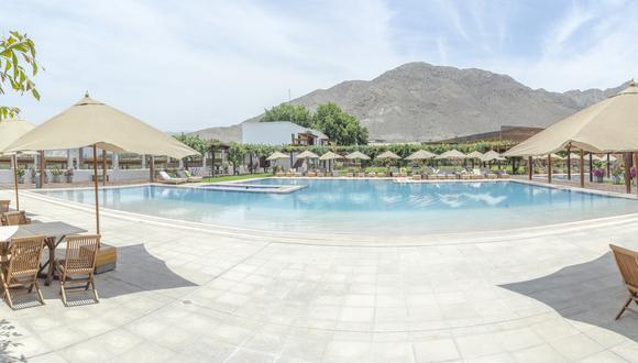 El Hotel Viñas Queirolo en Ica está operando al 40%. Empezaron recibiendo reservas de máximo dos noches; ahora la estadía ha aumentado a 4 o 5 noches.