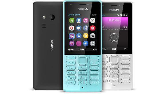 Microsoft presenta un nuevo teléfono Nokia