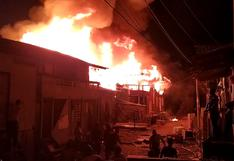 Colombia: al menos dos muertos y más de 50 casas destruidas por un incendio | VIDEO