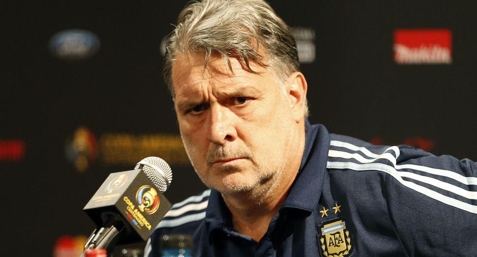 Gerardo Martino dirigió a Argentina entre 2014 y 2016. El 'Tata' renunció tras la final perdida en la Copa América Centenario. (Foto: AFP)