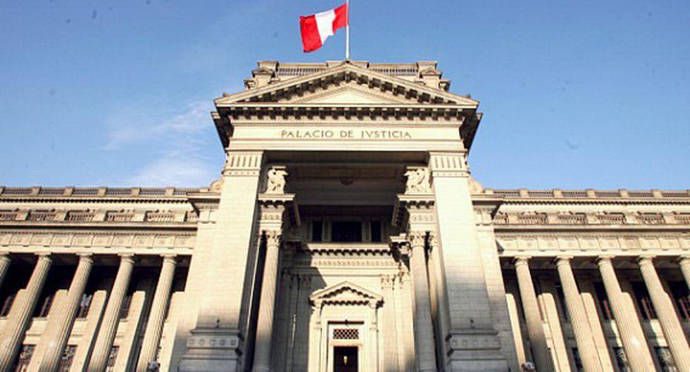 El programa a financiar incluye cinco entidades del sistema de administración de justicia. (Foto: GEC)