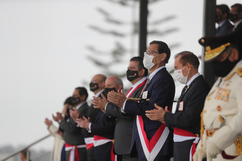 El evento concluyó luego de poco más de una hora, luego del discurso del presidente Martín Vizcarra. (Foto: Presidencia)