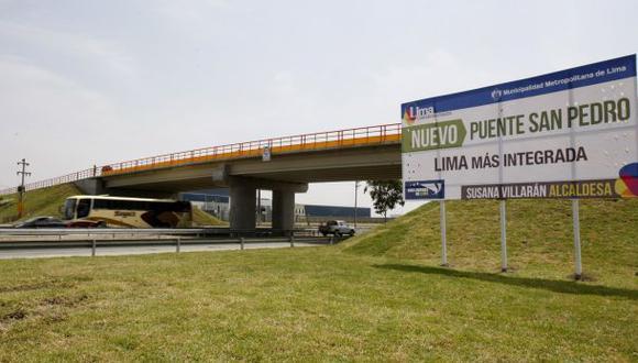 Tránsito en Panamericana Sur se restringe desde las 11:00 p.m.