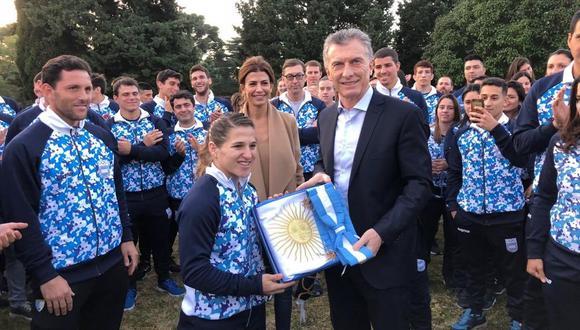 (Foto: Comité Olímpico Argentino)
