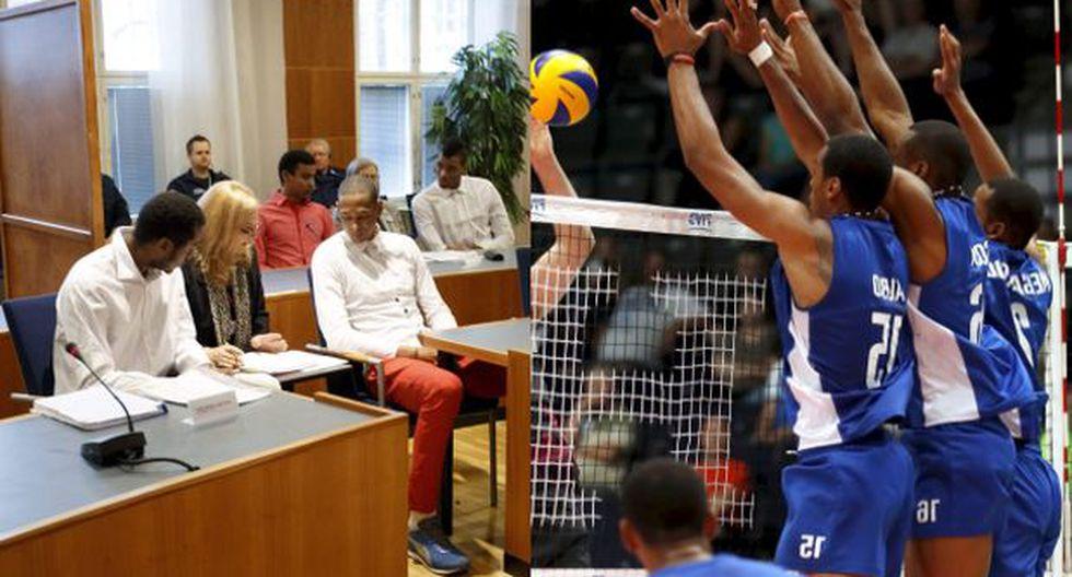 Finlandia condenó a cinco voleibolistas cubanos por violación