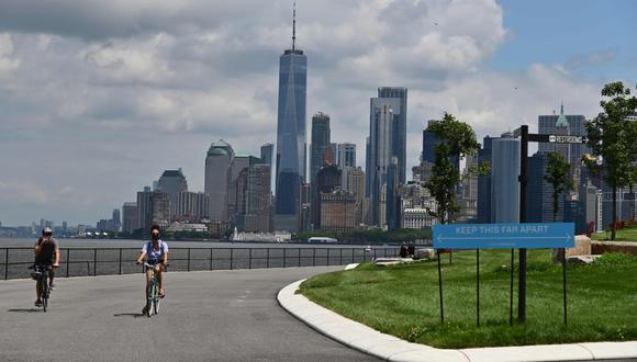 """""""Durante más de tres meses apenas salí de mi vecindario en Brooklyn. Lloré por Nueva York. Traté de acostumbrarme al final de la convivencia. Lo intenté y fallé"""". (Foto: AFP/Angela Weiss)."""